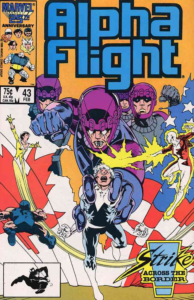 Alpha Flight (1st Series) comic issue 43