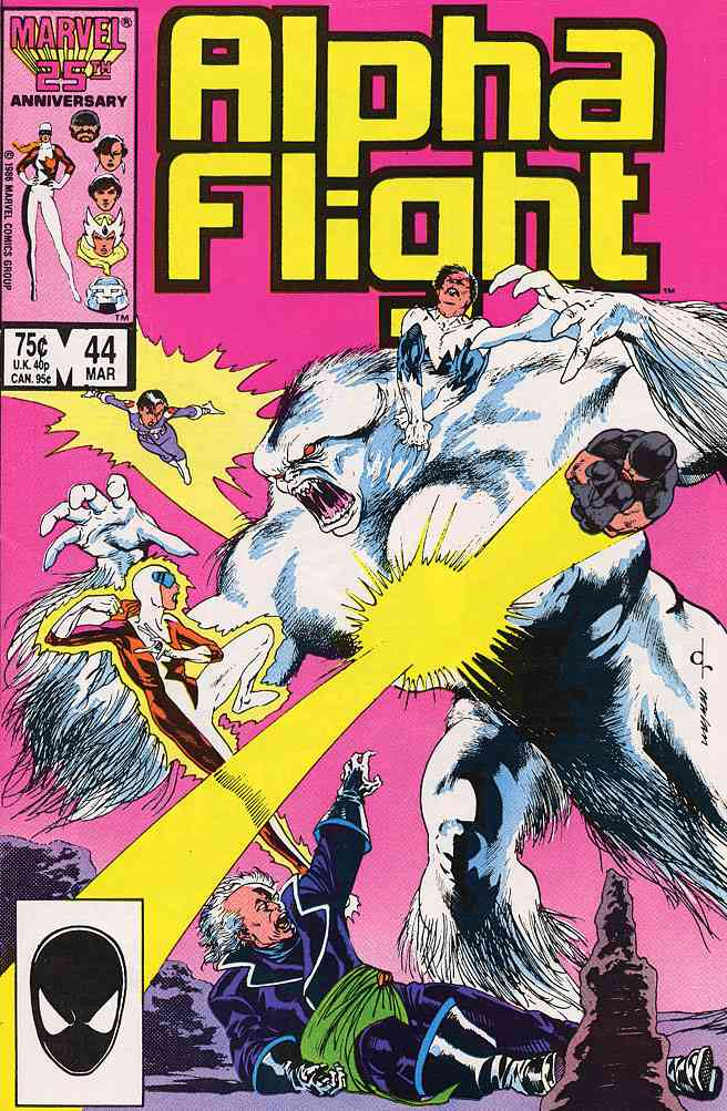 Alpha Flight (1st Series) comic issue 44