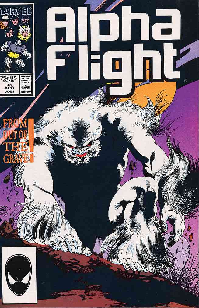 Alpha Flight (1st Series) comic issue 45