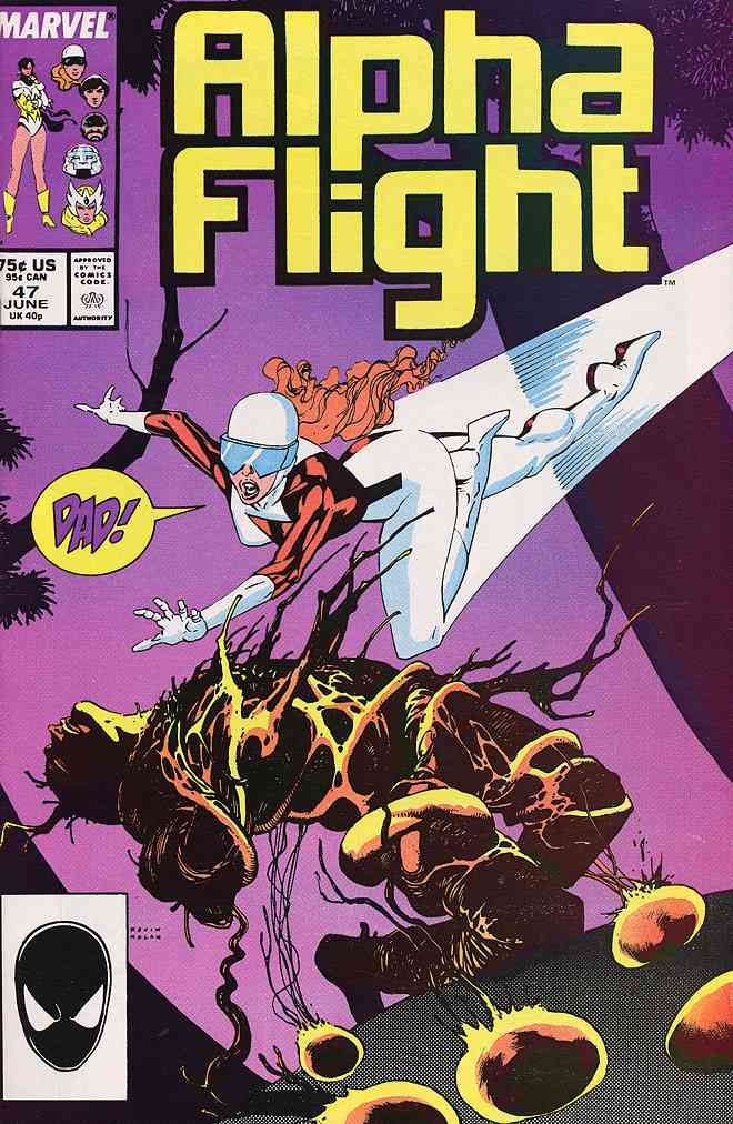 Alpha Flight (1st Series) comic issue 47