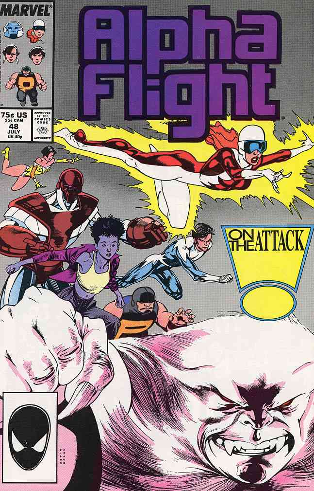 Alpha Flight (1st Series) comic issue 48