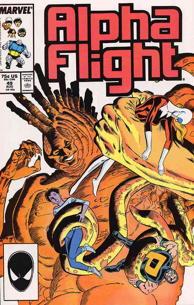 Alpha Flight (1st Series) comic issue 49