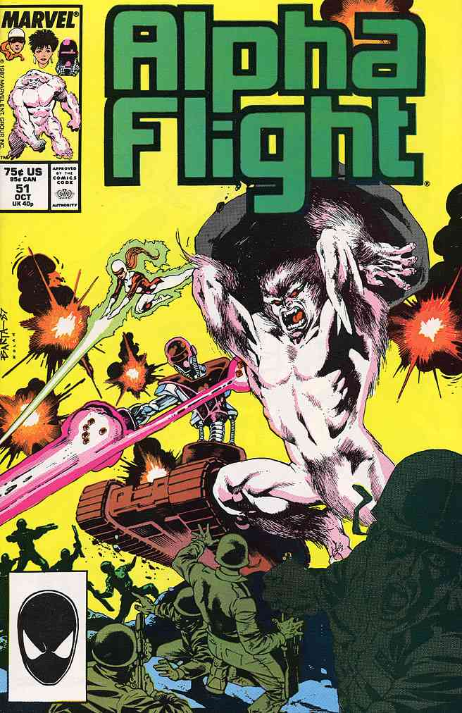 Alpha Flight (1st Series) comic issue 51