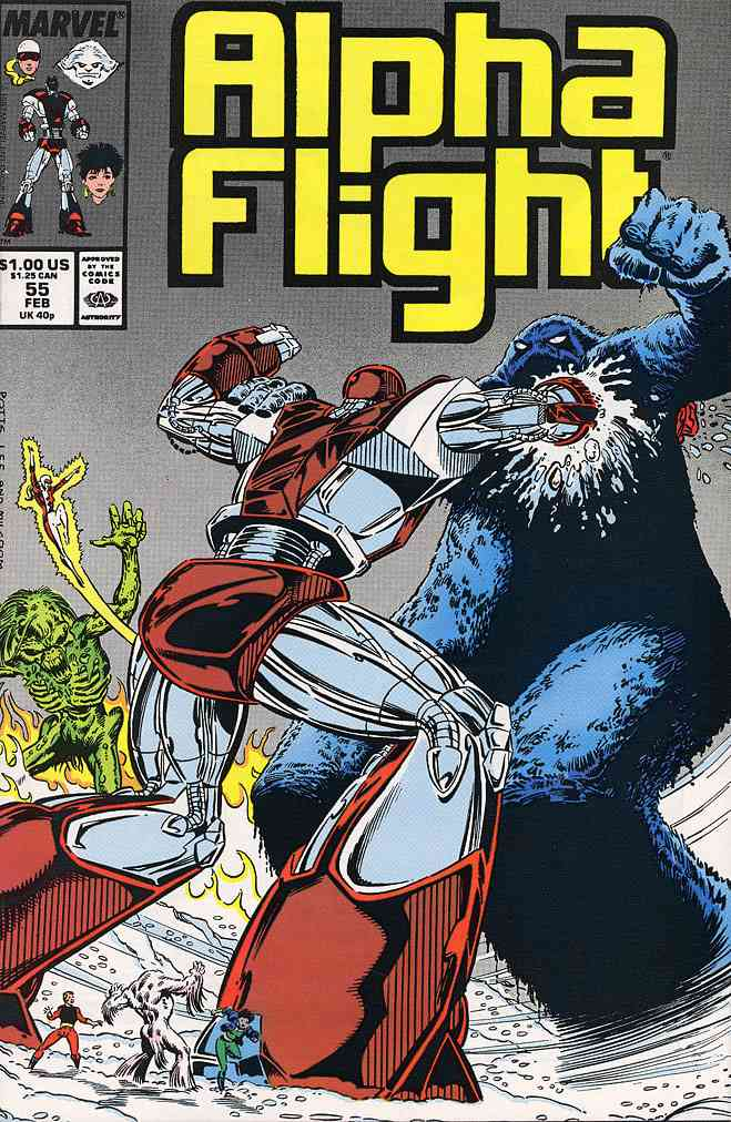 Alpha Flight (1st Series) comic issue 55