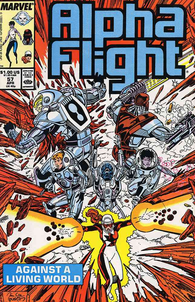 Alpha Flight (1st Series) comic issue 57