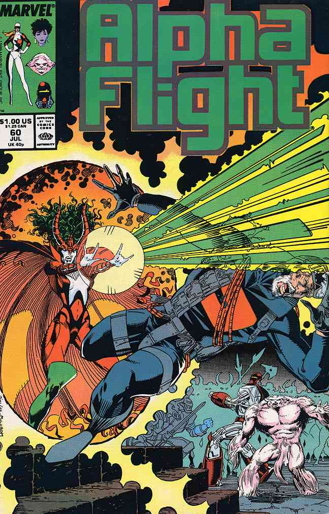 Alpha Flight (1st Series) comic issue 60