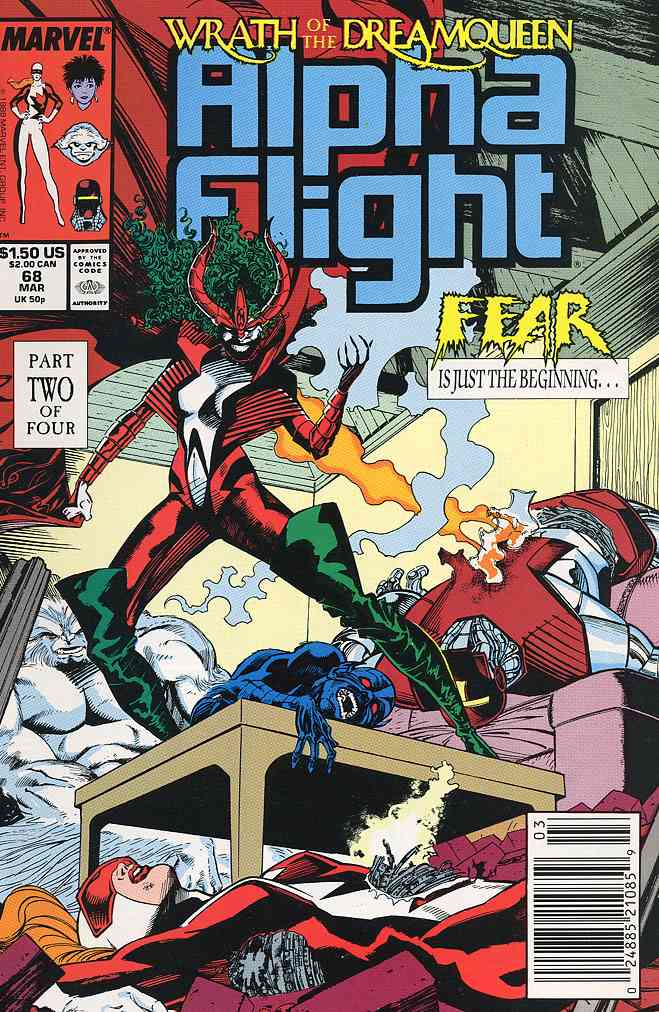 Alpha Flight (1st Series) comic issue 68