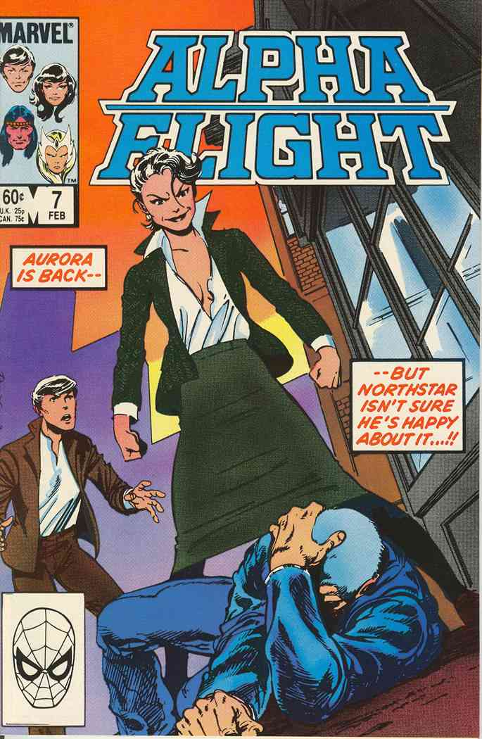 Alpha Flight (1st Series) comic issue 7