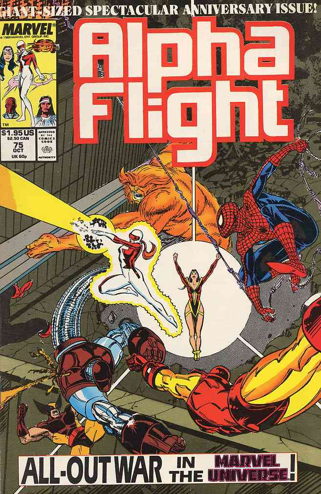 Alpha Flight (1st Series) comic issue 75