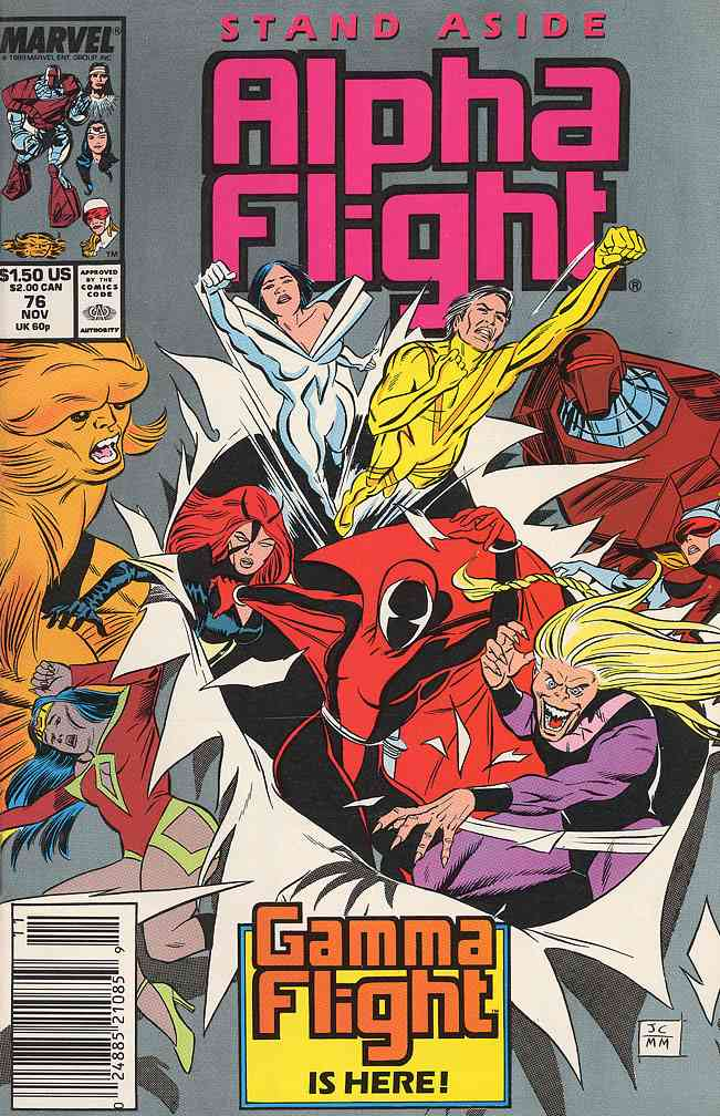 Alpha Flight (1st Series) comic issue 76