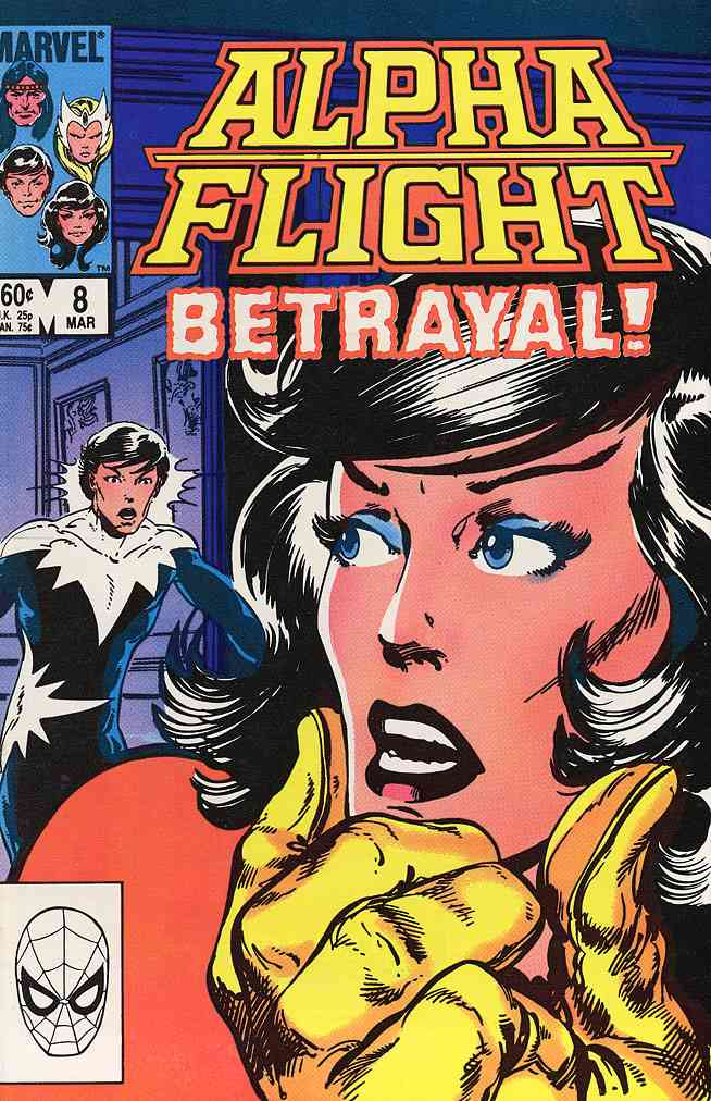 Alpha Flight (1st Series) comic issue 8
