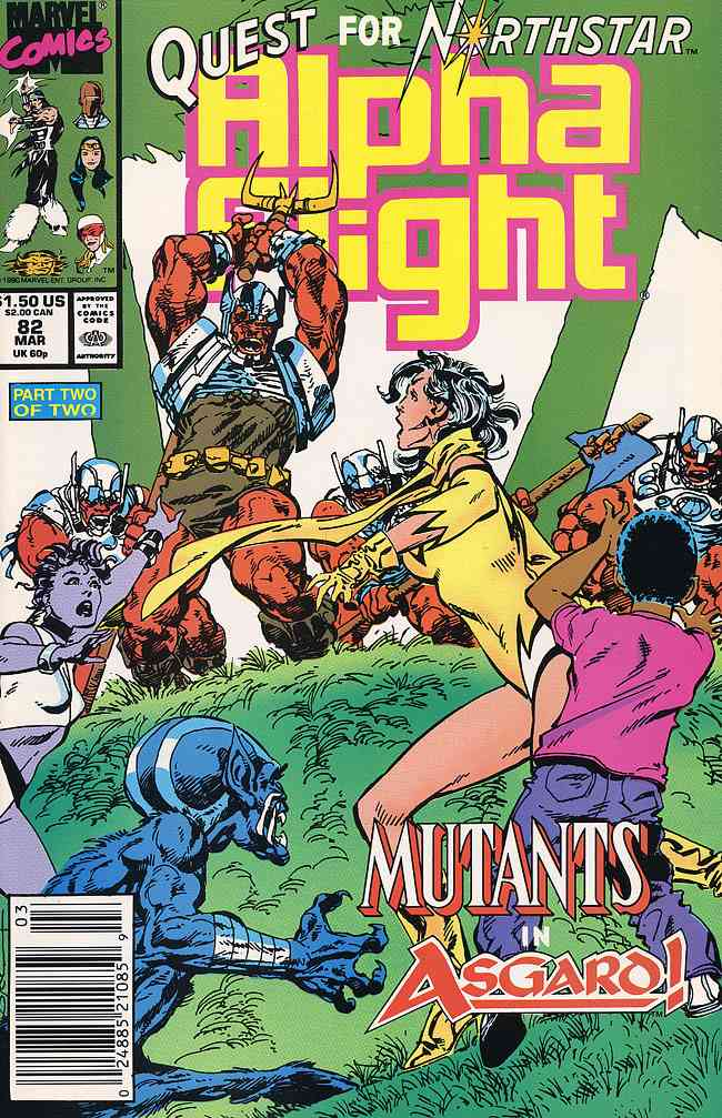 Alpha Flight (1st Series) comic issue 82