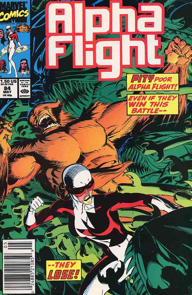 Alpha Flight (1st Series) comic issue 84