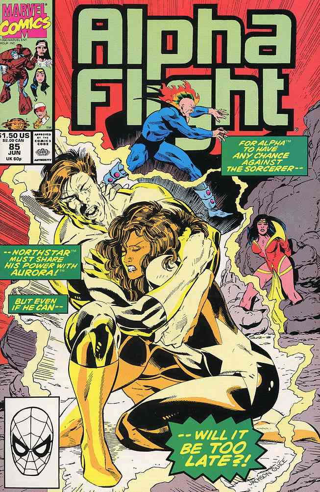 Alpha Flight (1st Series) comic issue 85