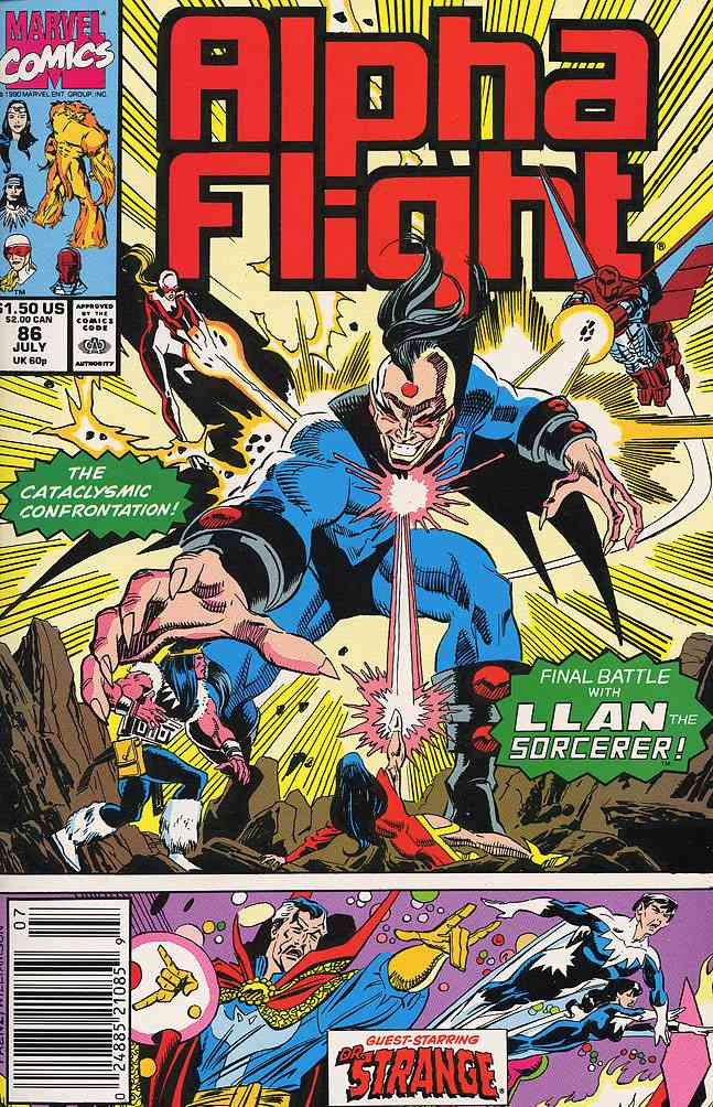 Alpha Flight (1st Series) comic issue 86