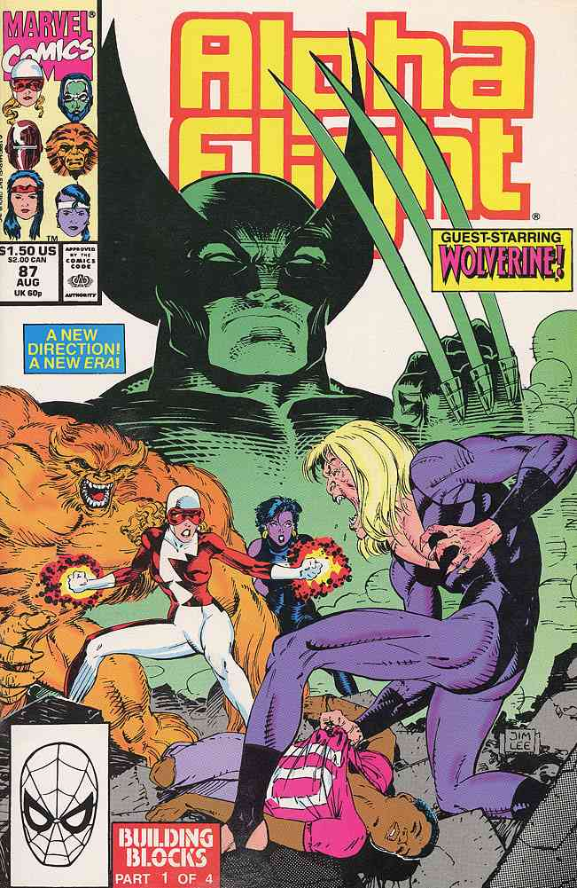 Alpha Flight (1st Series) comic issue 87