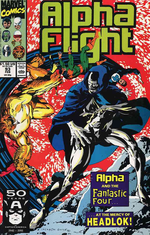 Alpha Flight (1st Series) comic issue 93