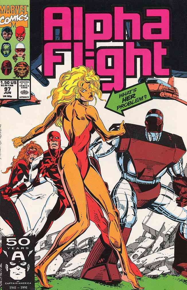 Alpha Flight (1st Series) comic issue 97
