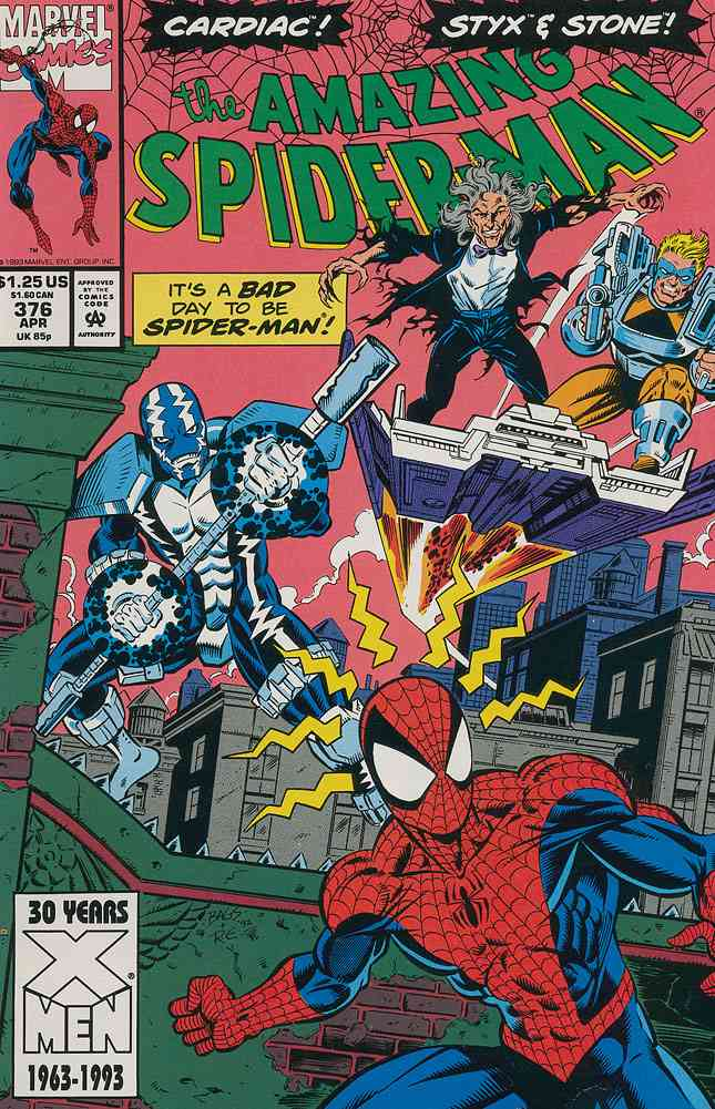 Amazing Spider-Man, The comic issue 376