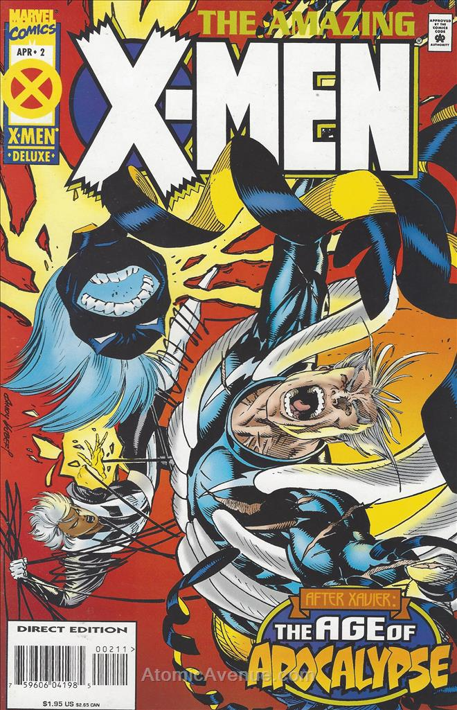 Amazing X-Men comic issue 2