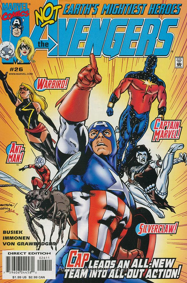 Avengers (Vol. 3) comic issue 26
