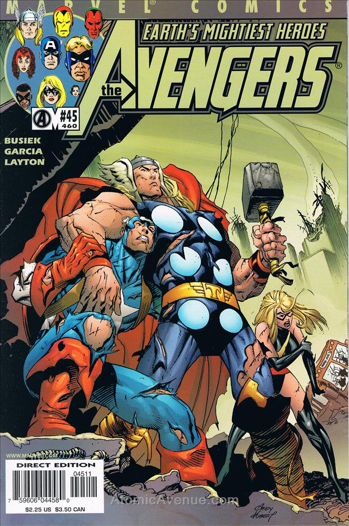 Avengers (Vol. 3) comic issue 45