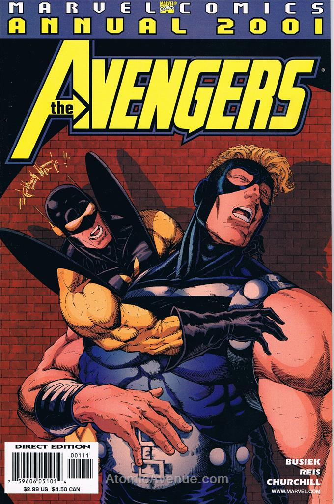 Avengers (Vol. 3) comic issue 2001