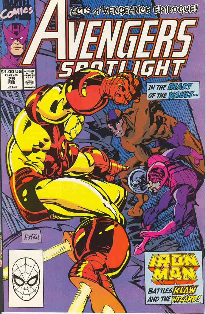 Avengers Spotlight comic issue 29
