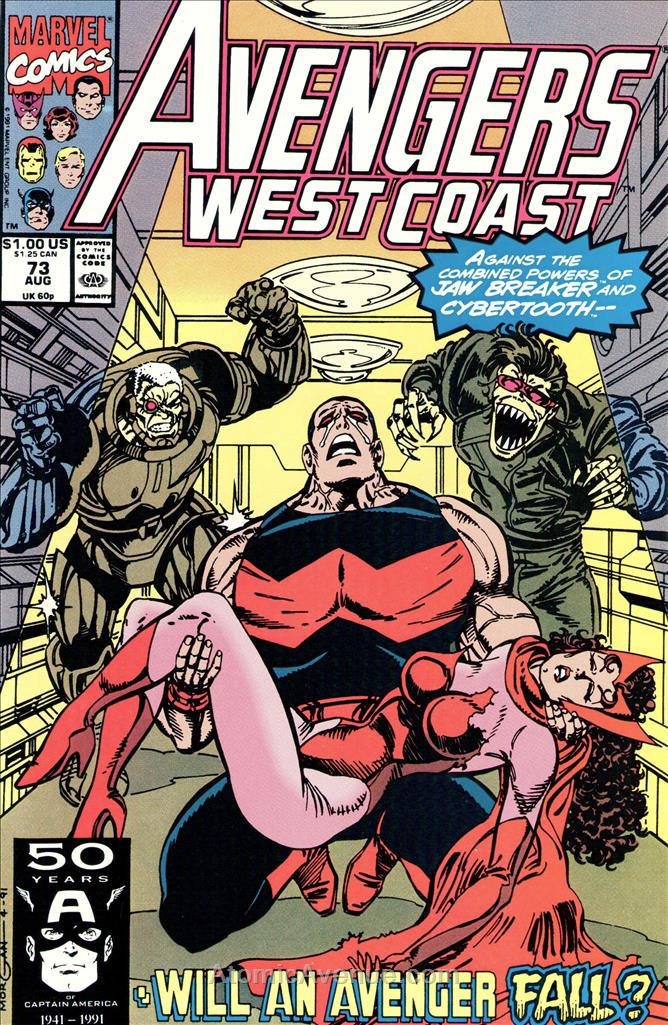 Avengers West Coast comic issue 73
