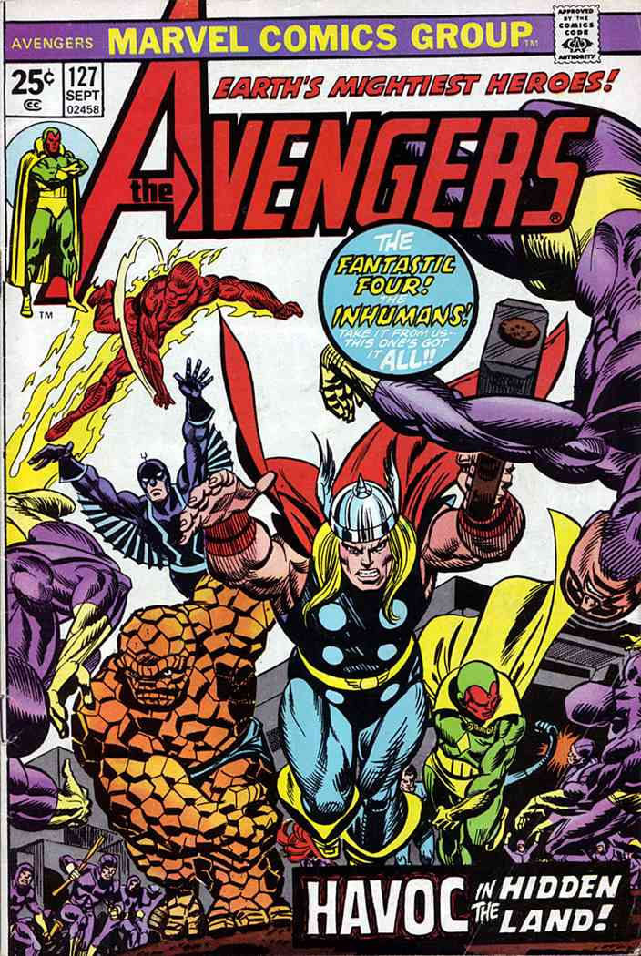 Avengers, The comic issue 127