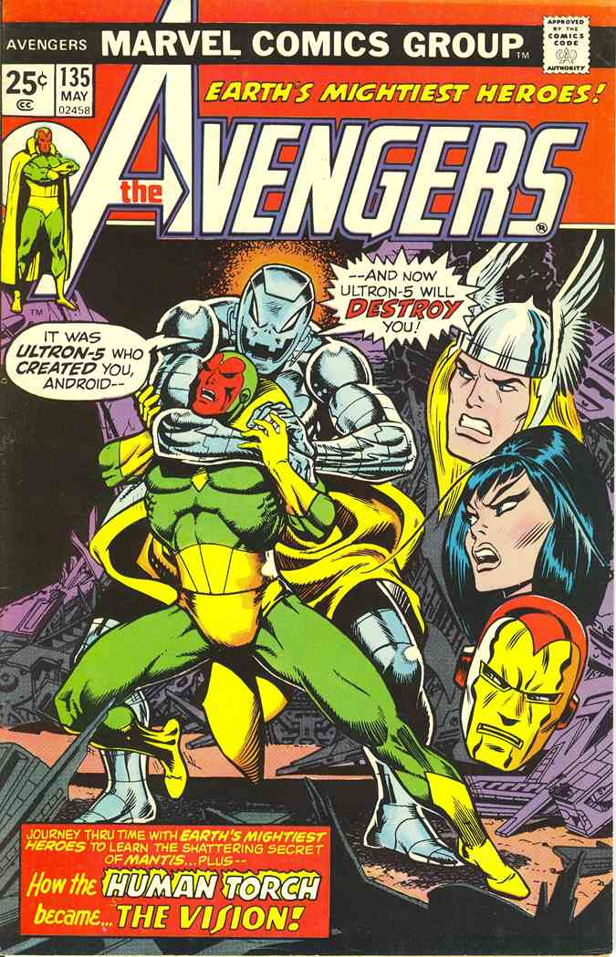 Avengers, The comic issue 135