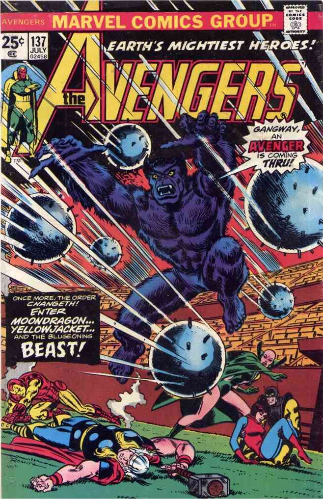 Avengers, The comic issue 137