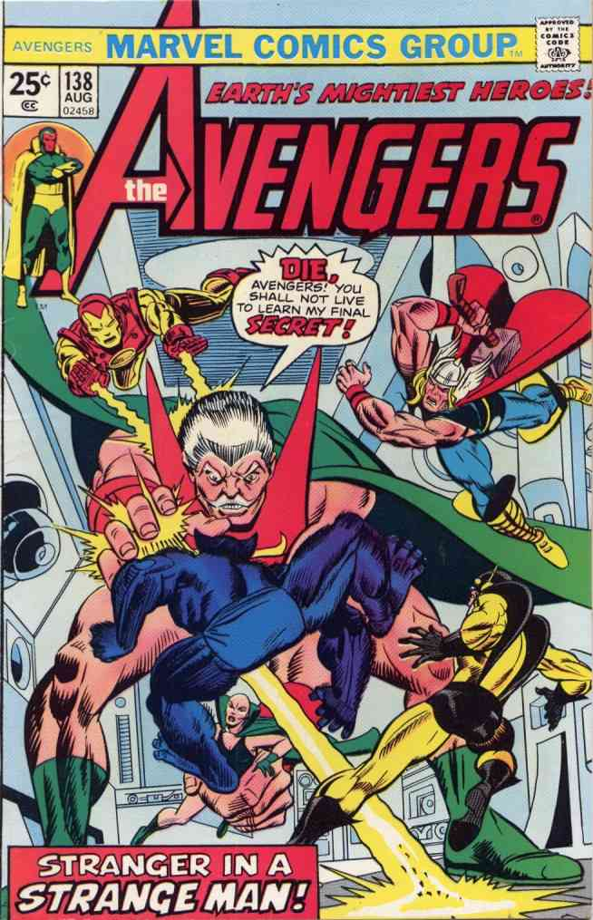 Avengers, The comic issue 138