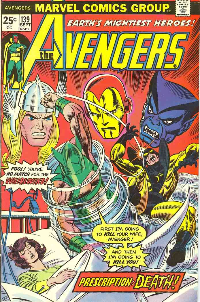 Avengers, The comic issue 139