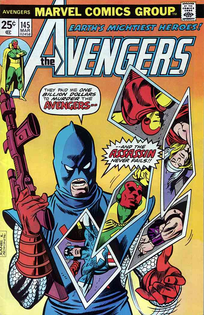 Avengers, The comic issue 145