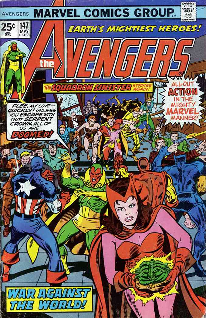Avengers, The comic issue 147