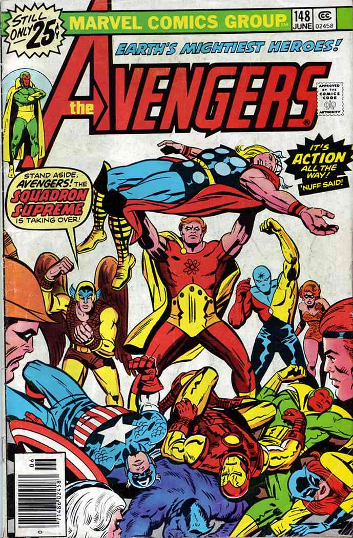 Avengers, The comic issue 148