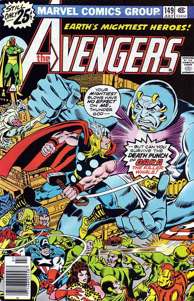 Avengers, The comic issue 149