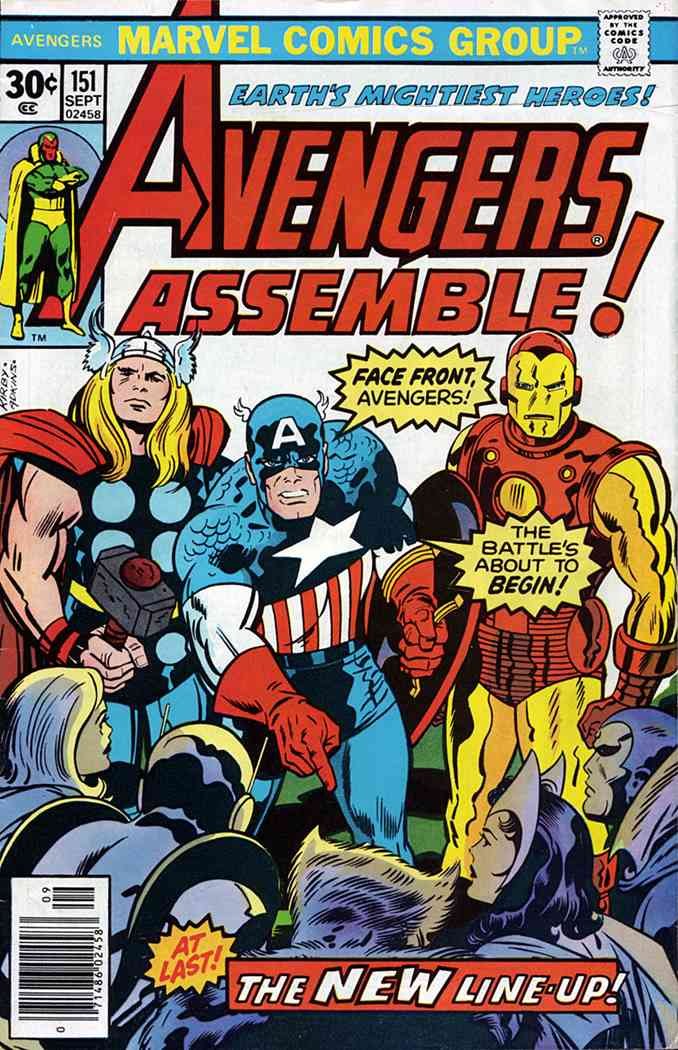 Avengers, The comic issue 151