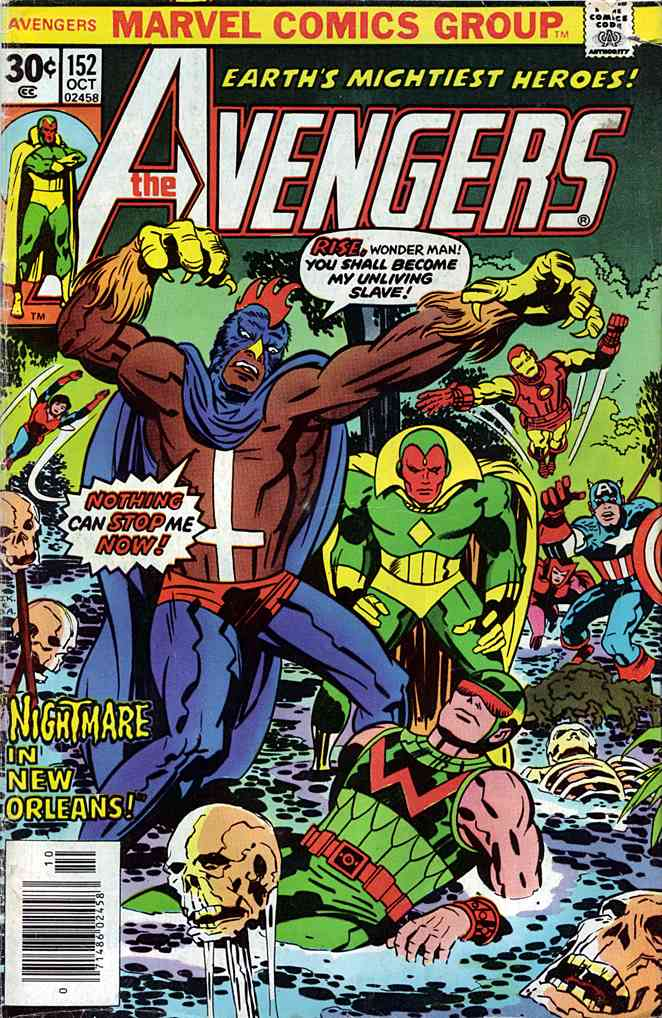 Avengers, The comic issue 152