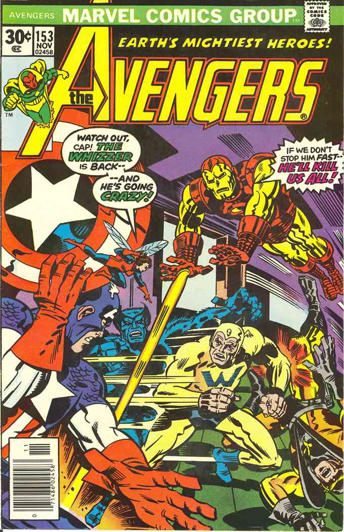 Avengers, The comic issue 153