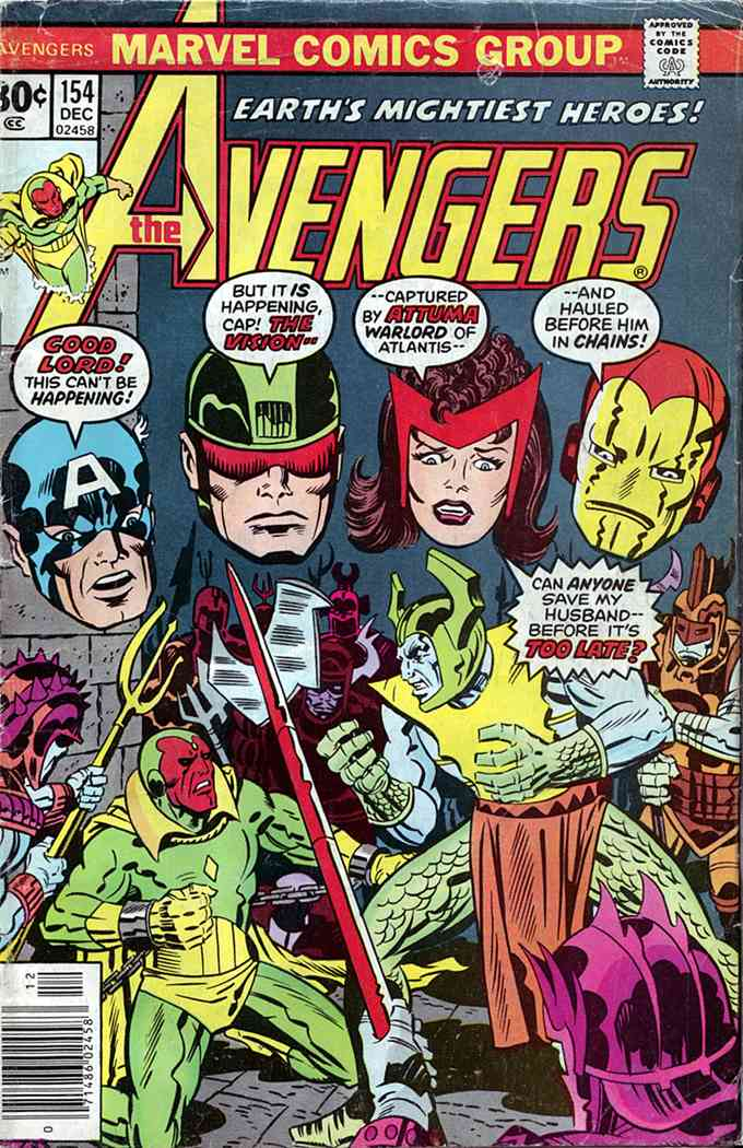 Avengers, The comic issue 154