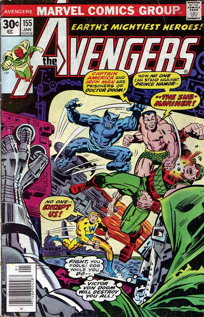 Avengers, The comic issue 155
