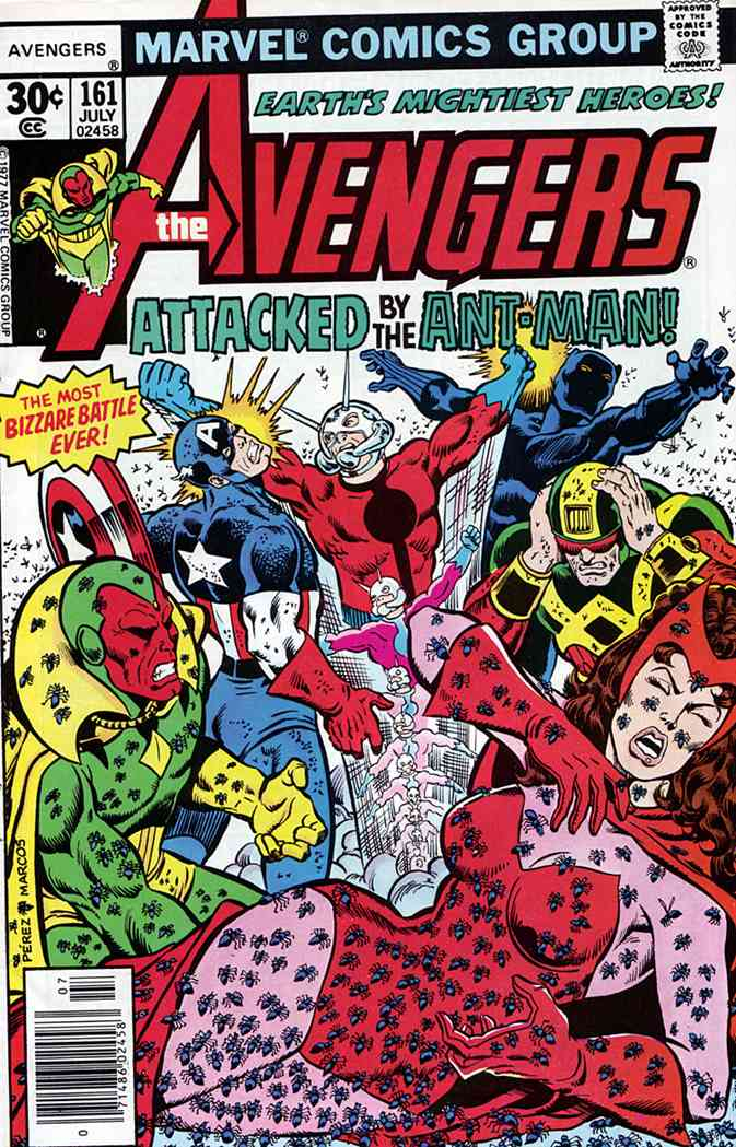 Avengers, The comic issue 161