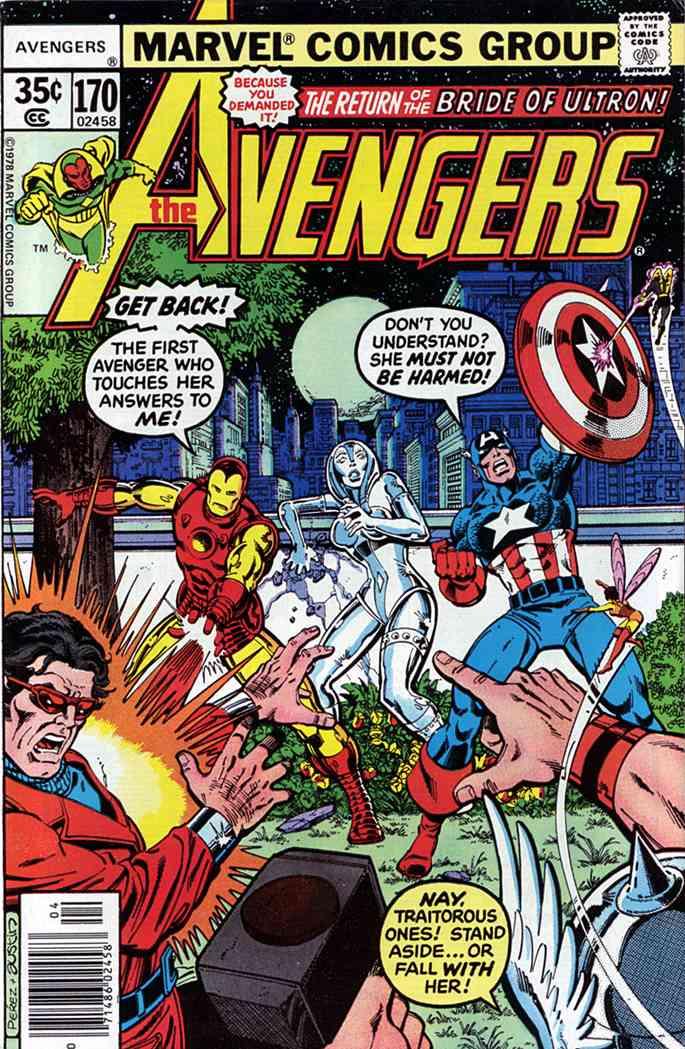 Avengers, The comic issue 170