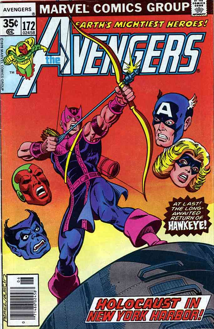 Avengers, The comic issue 172