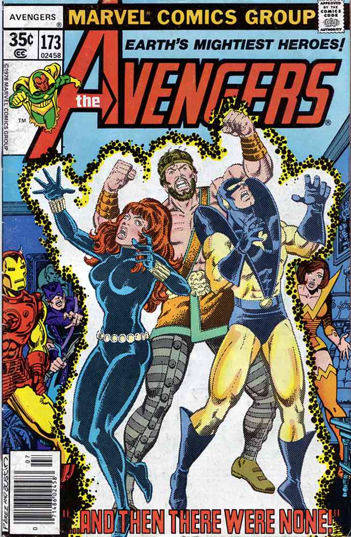 Avengers, The comic issue 173