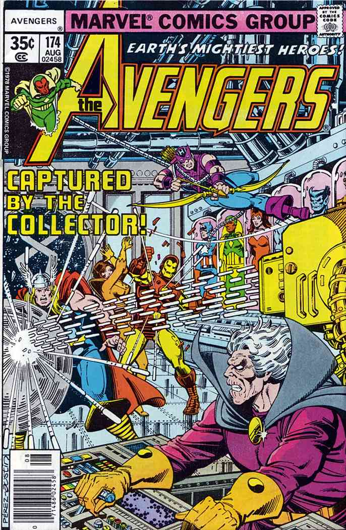 Avengers, The comic issue 174