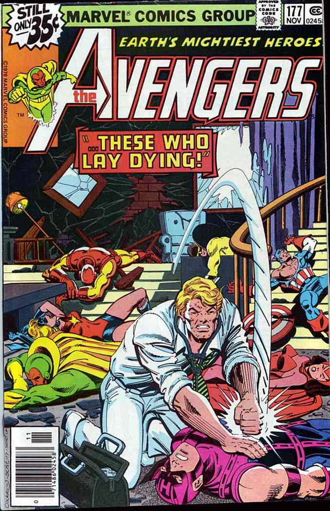 Avengers, The comic issue 177