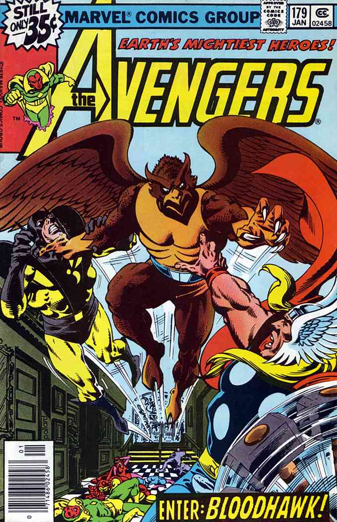 Avengers, The comic issue 179